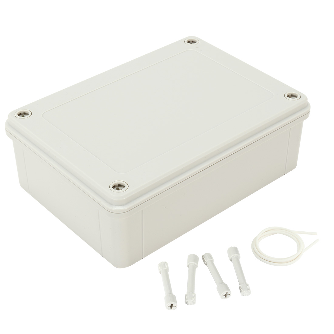 """7.1""""x5.12""""x2.3""""(180mmx130mmx60mm) ABS Dustproof IP65 Junction Box Universal Electric Project Enclosure"""