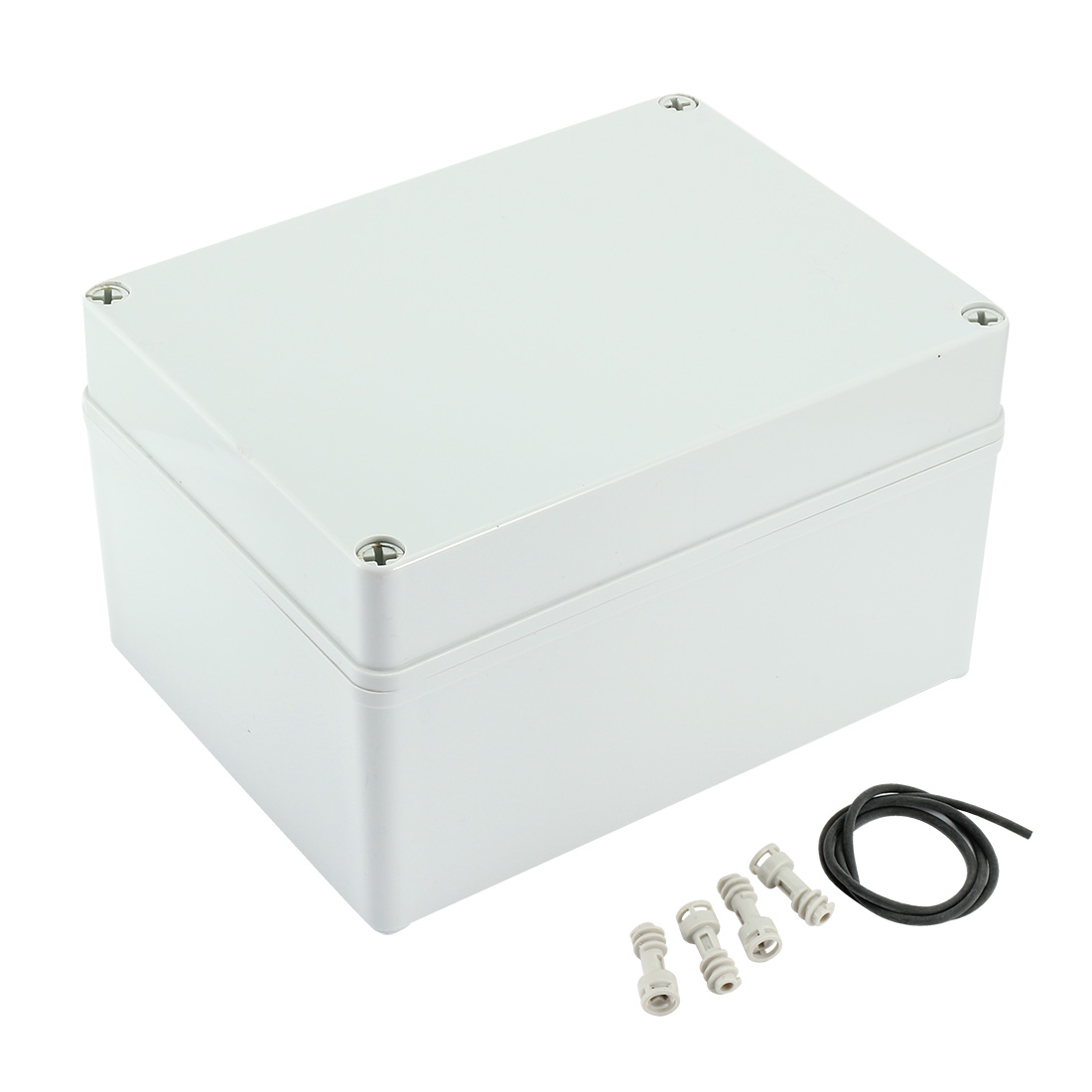 "7.9""x5.9""x4.53""(200mmx150mmx115mm) ABS Dustproof IP65 Junction Box Universal Electric Project Enclosure"