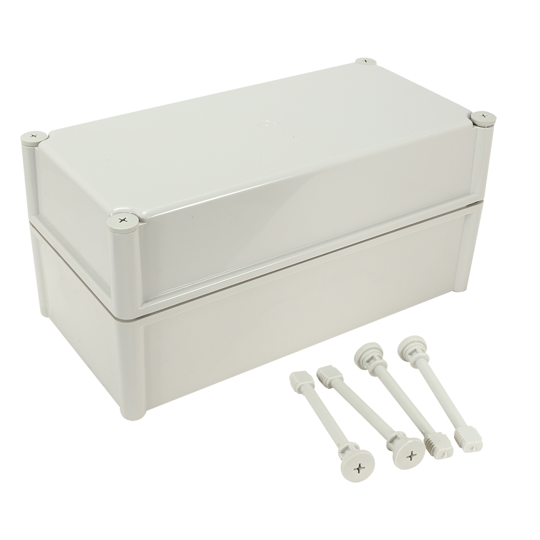"15""x7.5""x7.1""(380mmx190mmx180mm) ABS Dustproof IP65 Junction Box Universal Electric Project Enclosure"