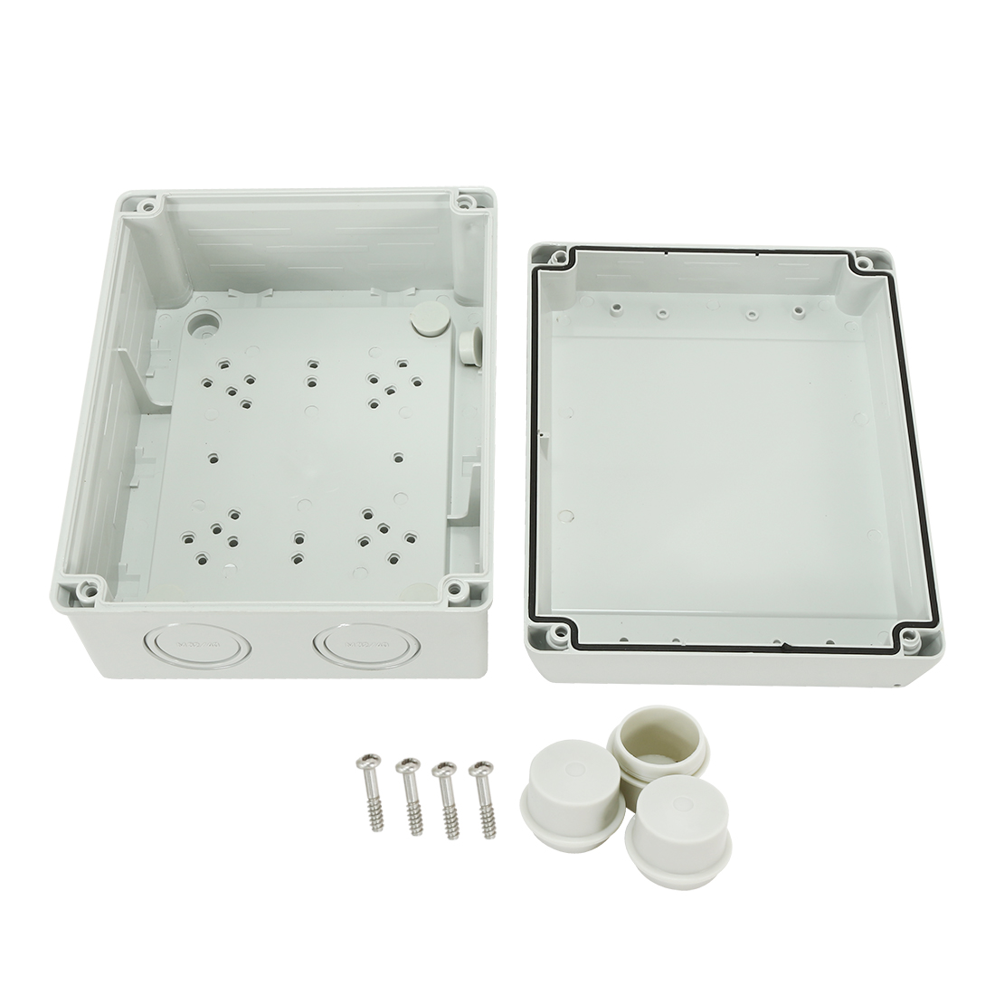 """7.9""""x6.3""""x3.9"""" (200mmx160mmx98mm) ABS Flame Retardant IP66/IP55 Junction Box Universal Project Enclosure"""