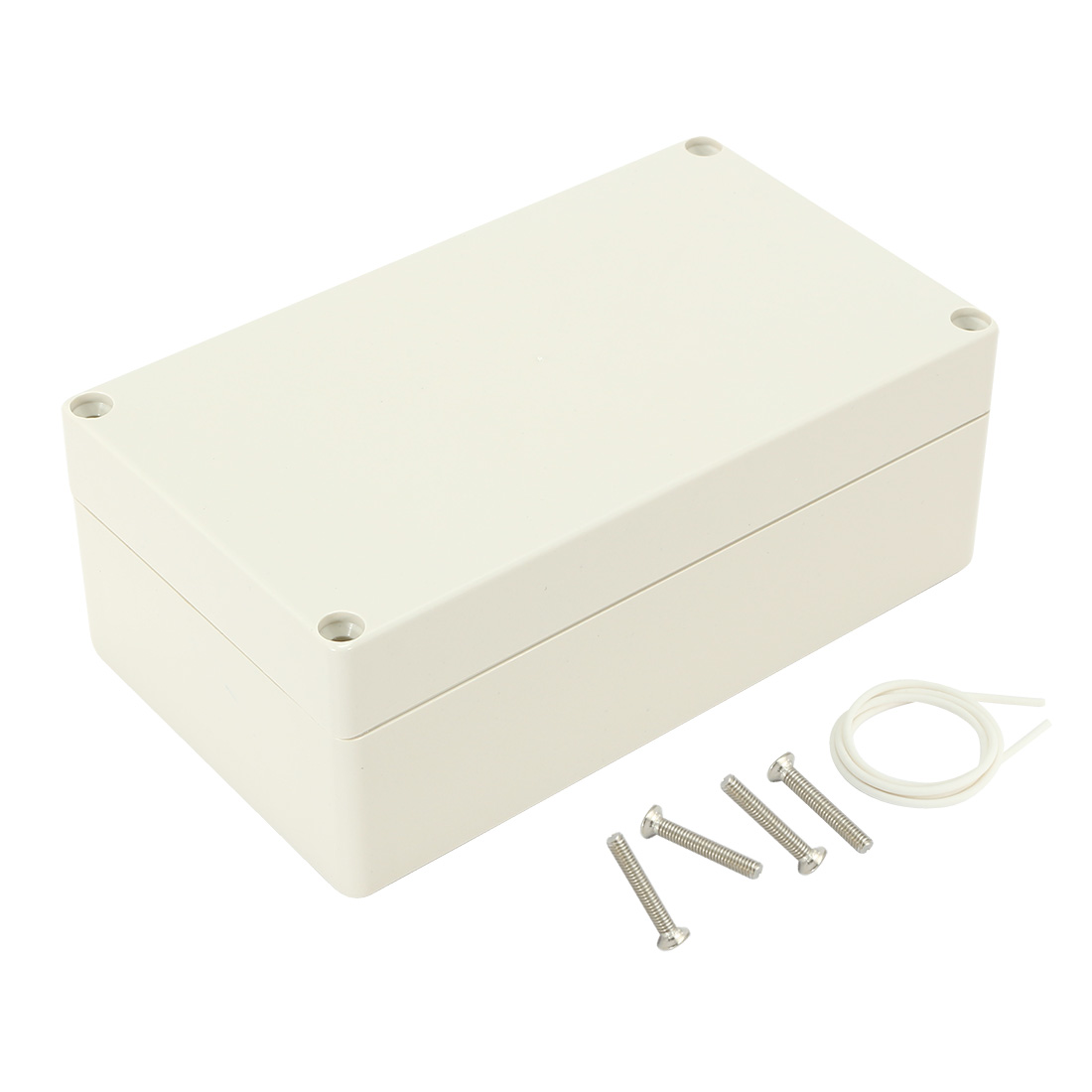 "6.2""x3.54""x2.3""(158mmx90mmx60mm) ABS Junction Box Universal Electric Project Enclosure"