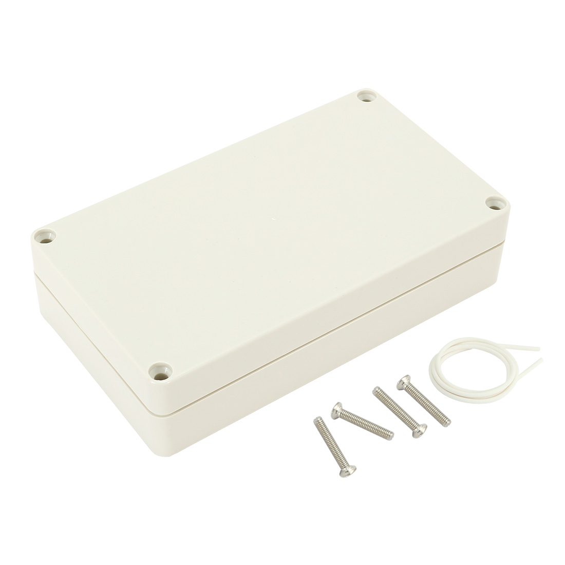 """6.22""""x3.54""""x1.6""""ABS Junction Box Universal Electric Project Enclosure"""