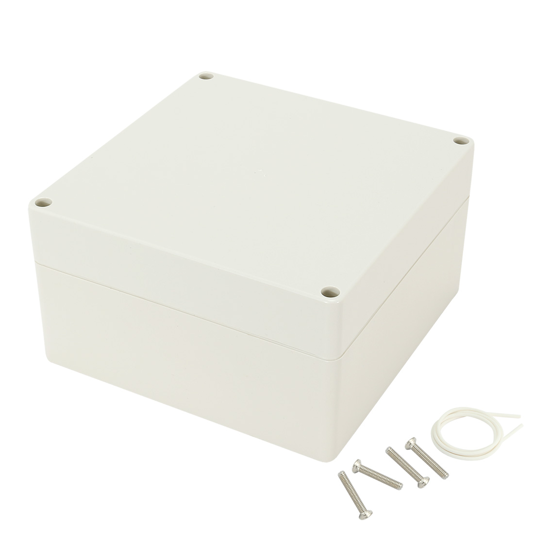 "6.3""x6.3""x3.54"" (160mmx160mmx90mm) ABS Junction Box Universal Electric Project Enclosure"