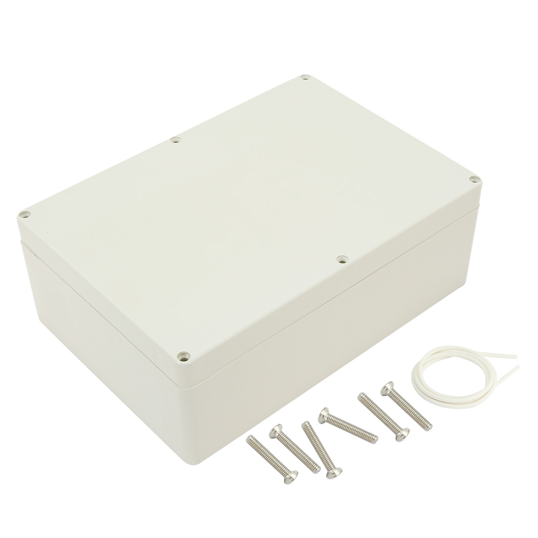 "10.4""x7.2""x3.7""(263mmx182mmx95mm) ABS Junction Box Universal Electric Project Enclosure"