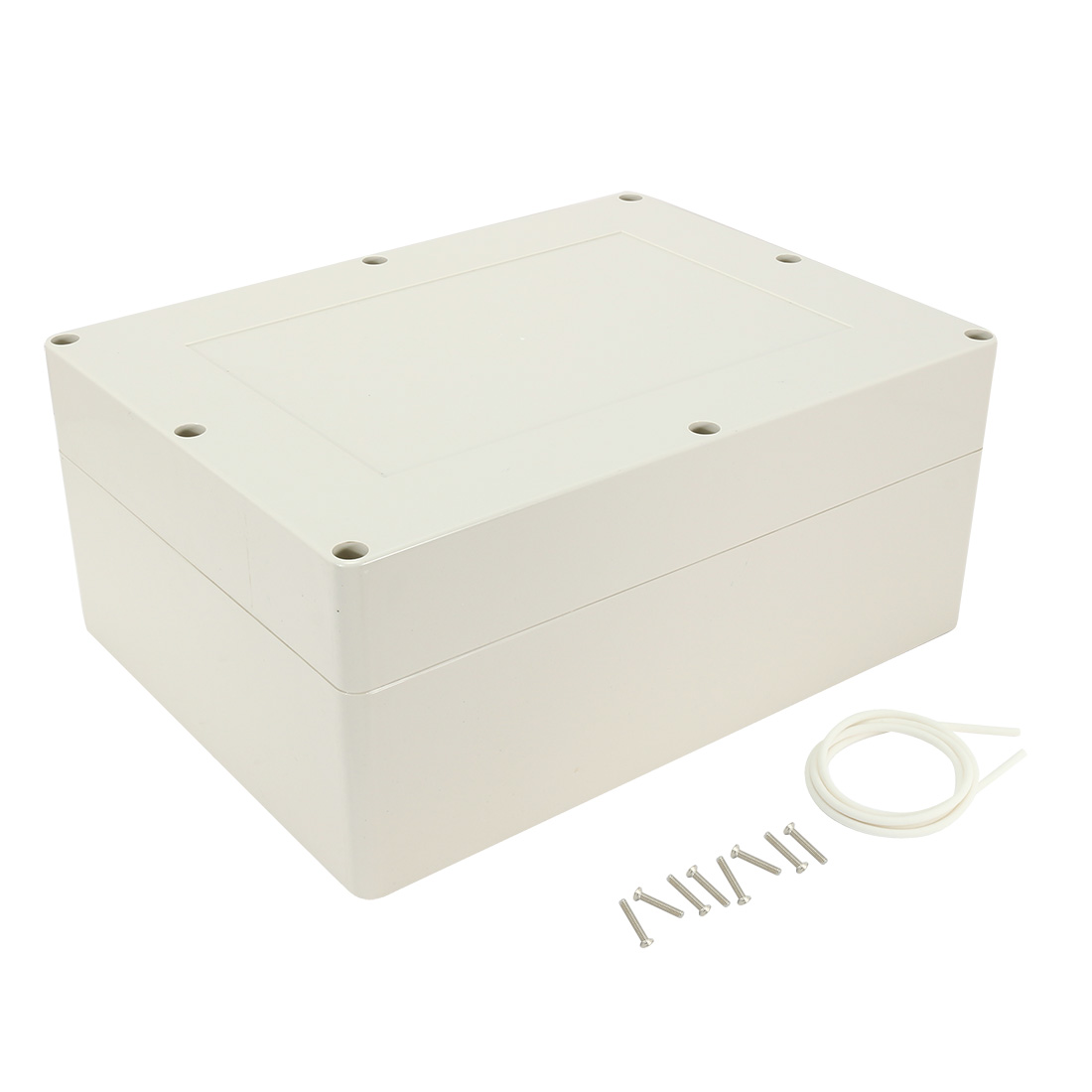"""12.6""""x9.5""""x5.5""""(320mmx240mmx140mm) ABS Junction Box Universal Electric Project Enclosure"""