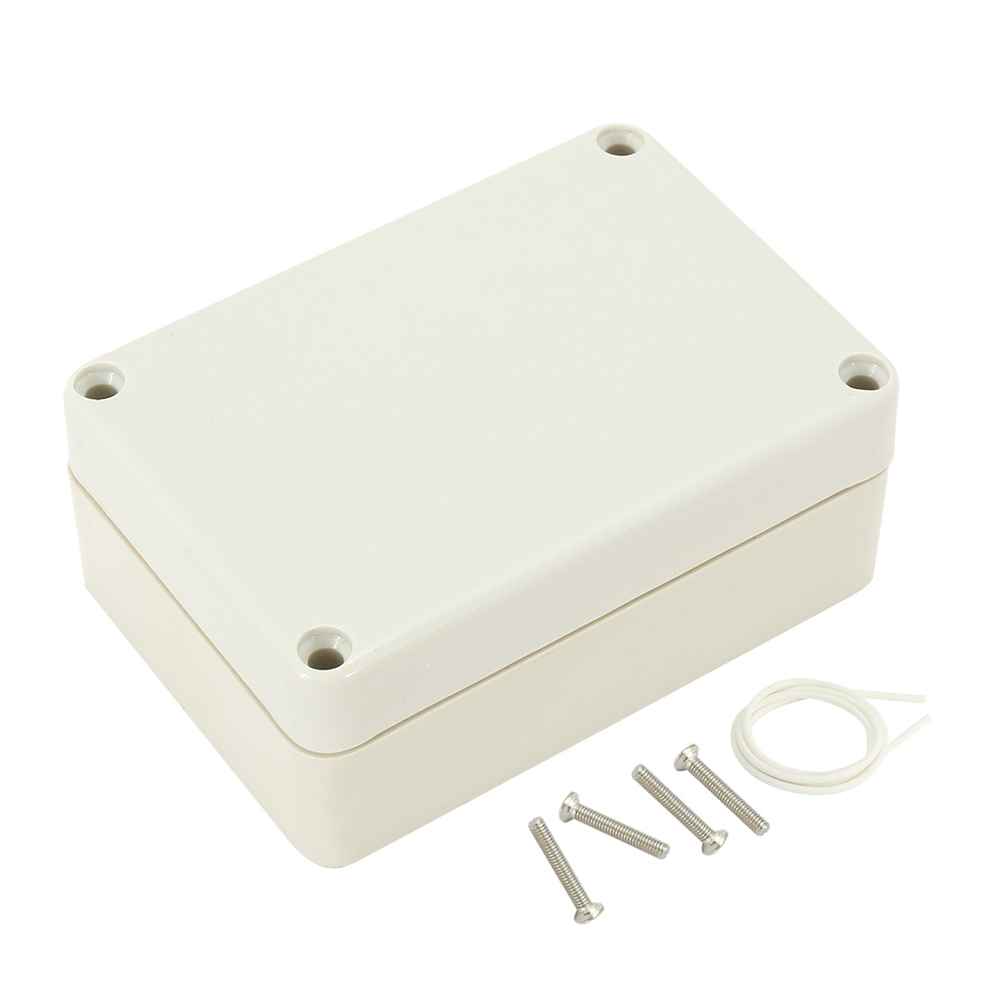 """3.3""""x2.3""""x1.3""""(83mmx58mmx33mm) ABS Junction Box Universal Electric Project Enclosure"""