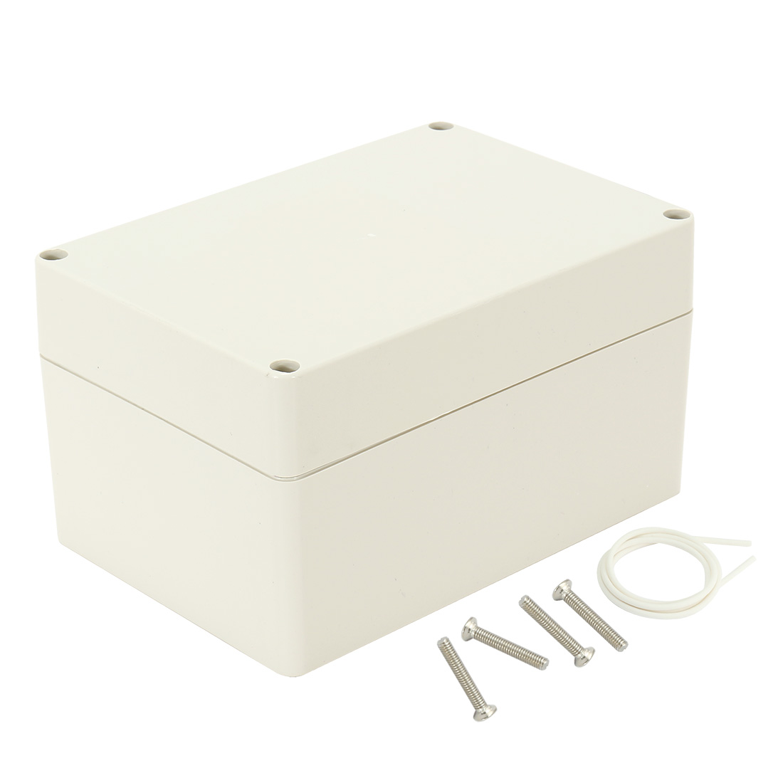 "6.3""x4.33""x3.54""(160mmx110mmx90mm) ABS Junction Box Universal Electric Project Enclosure"