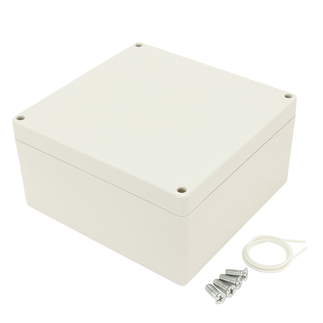 "7.56""x7.4""x3.93""(192mmx188mmx100mm) ABS Junction Box Universal Electric Project Enclosure"