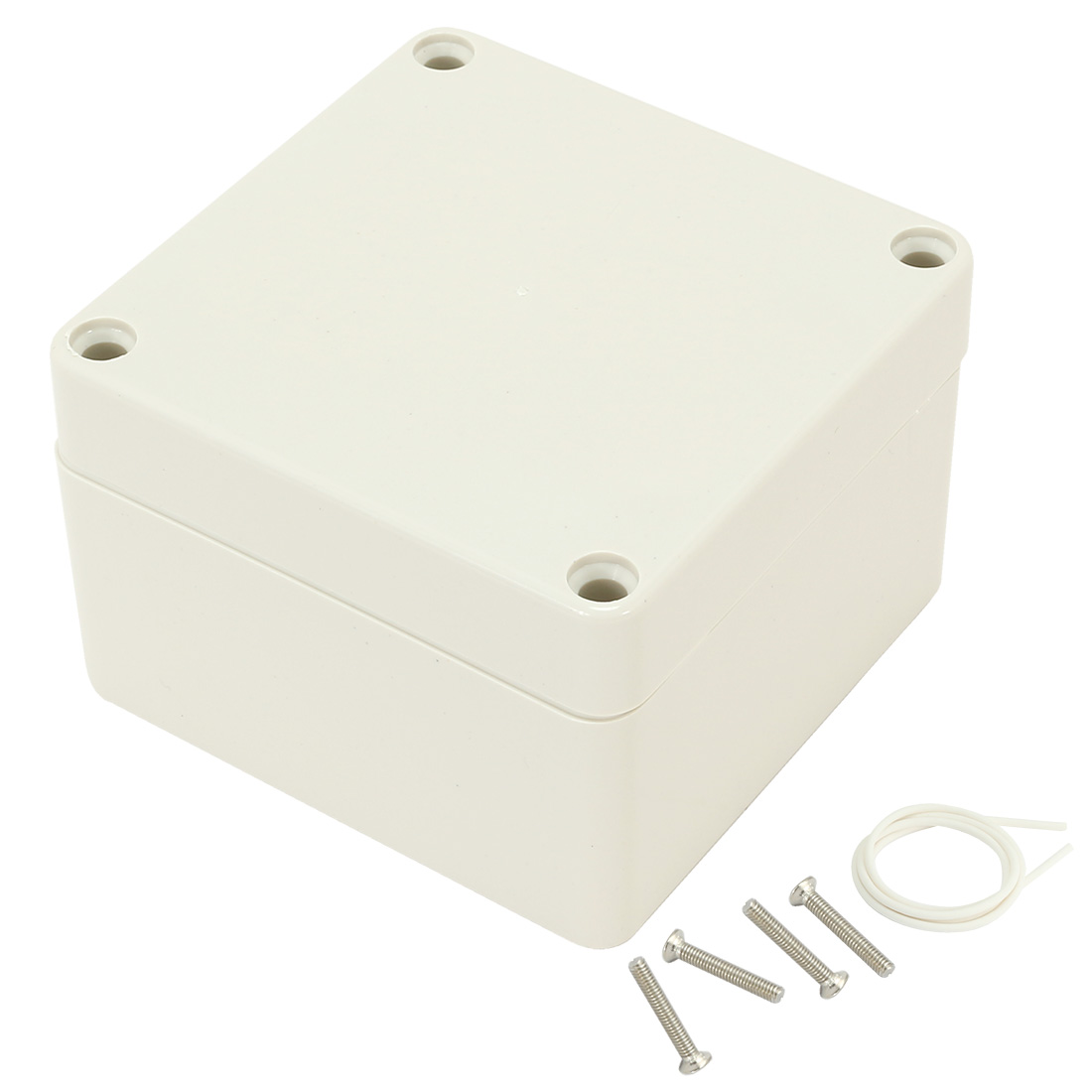 "3.3""x3.2""x2.2""(83mmx81mmx56mm) ABS Junction Box Universal Electric Project Enclosure"