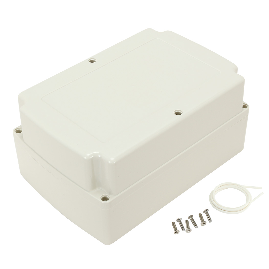 """4.7""""x6.69""""x9.84""""(120mmx170mmx250mm) ABS Junction Box Universal Electric Project Enclosure"""