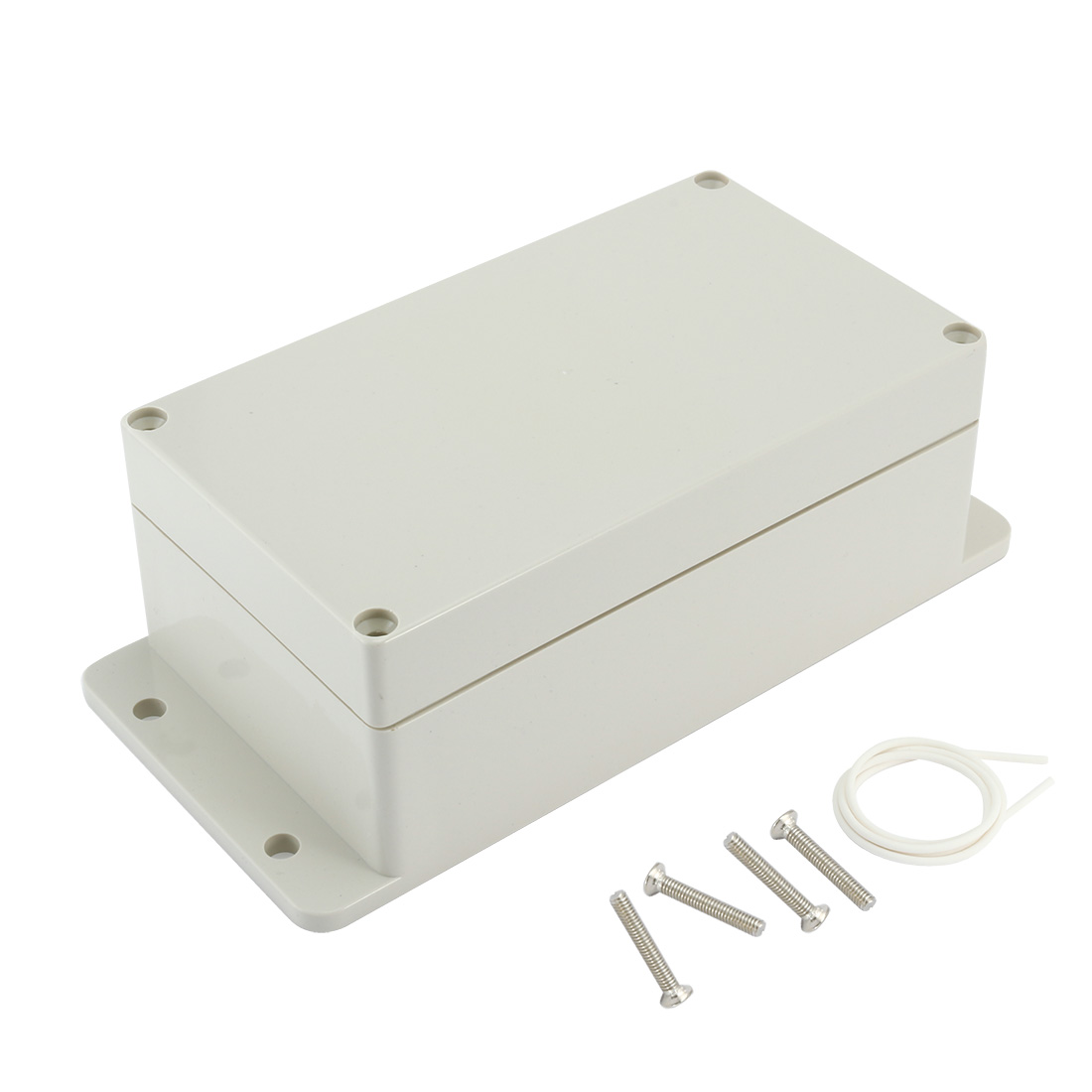 """6.2""""x3.54""""x2.51""""ABS Junction Box Universal Electric Project Enclosure"""