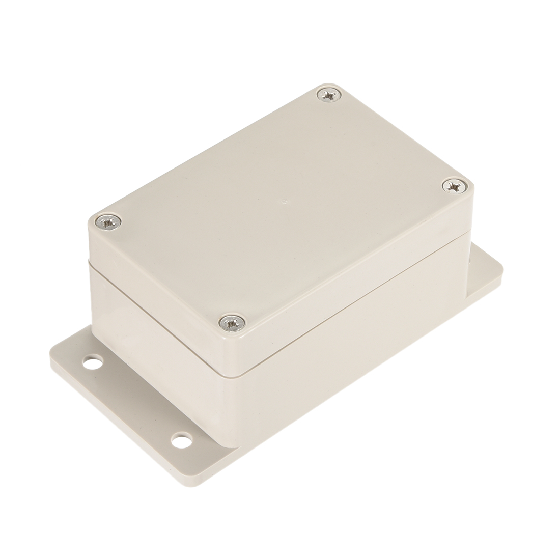 "3.9""x2.67""x2""(100mmx68mmx50mm) ABS Junction Box Universal Electric Project Enclosure w Fixed Ear"