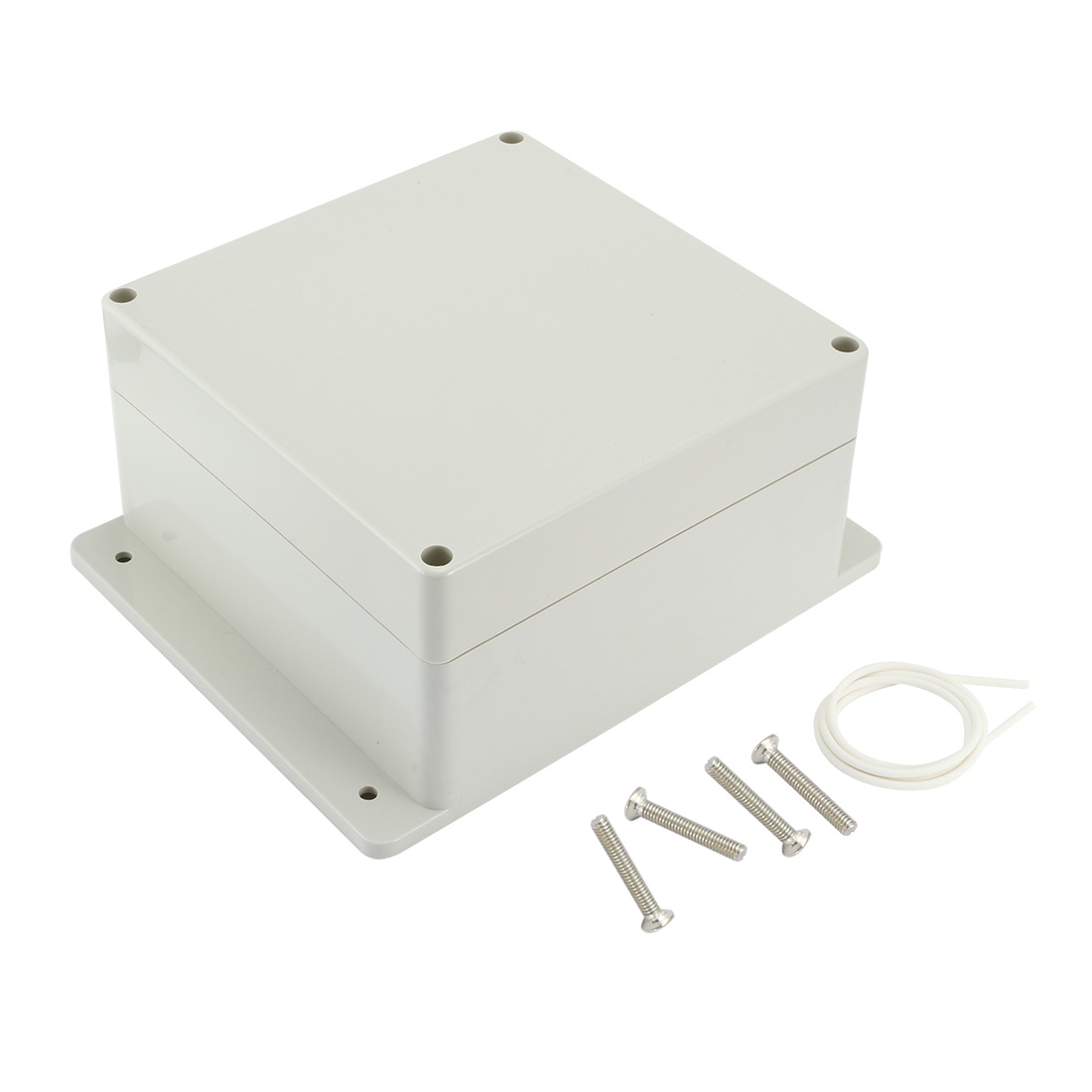"6.3""x6.3""x3.54""(160mmx160mmx90mm) ABS Junction Box Universal Electric Project Enclosure"