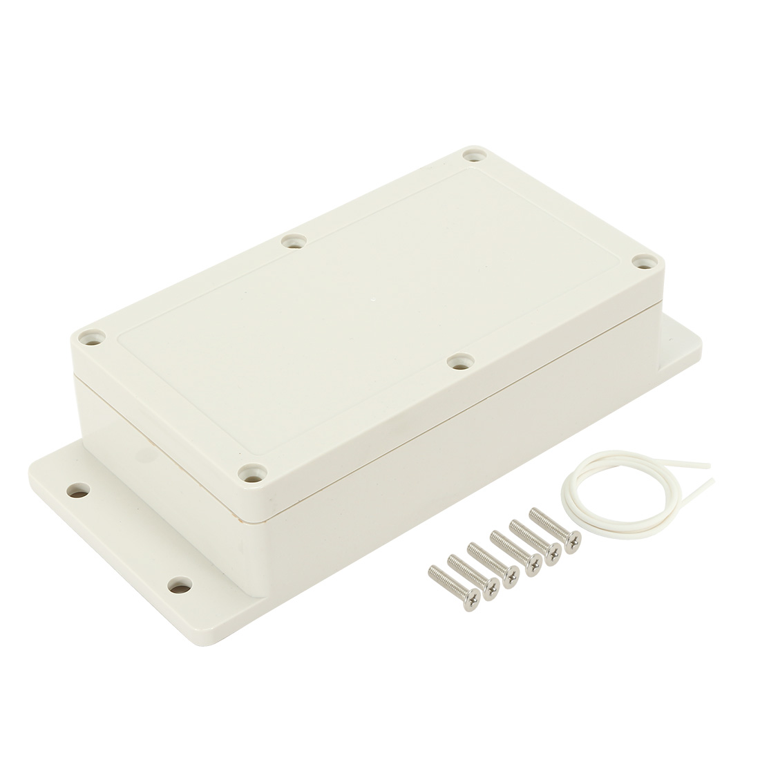 "6.2""x3.54""x1.8"" ABS Junction Box Universal Enclosure w Fixed Ear"