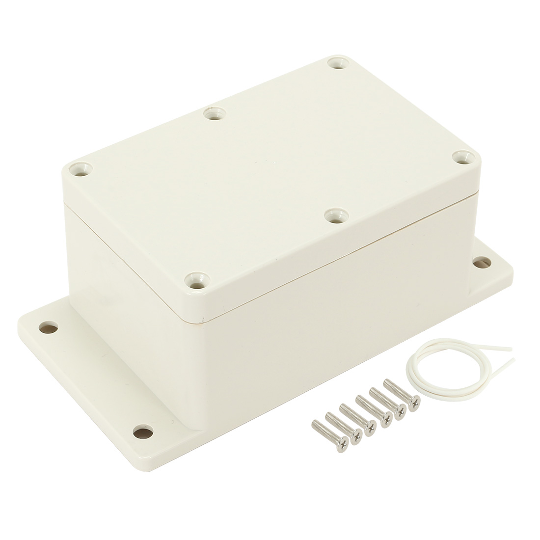 """4.7""""x3.2""""x2.56""""(120mmx81mmx65mm) ABS Junction Box Universal Electric Project Enclosure"""