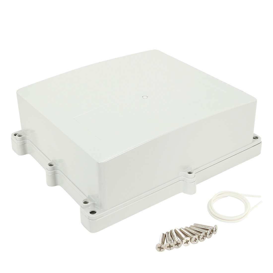 "4.4""x10.6""x12""(112mmx270mmx300mm) ABS Junction Box Universal Electric Project Enclosure"