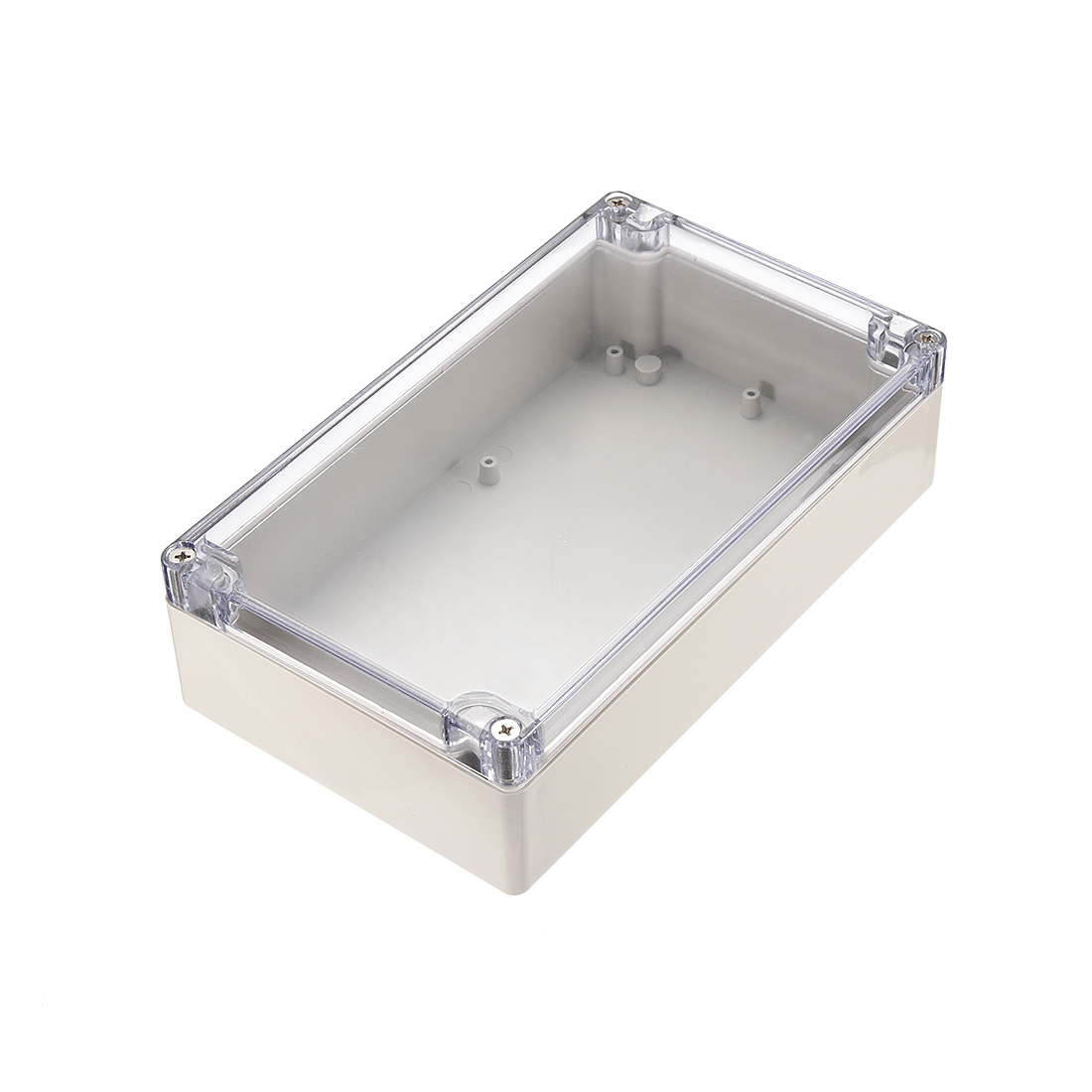 "7.9""x4.7""x2.2""(200mmx120mmx56mm) ABS Junction Box Universal Project Enclosure w PC Transparent Cover"