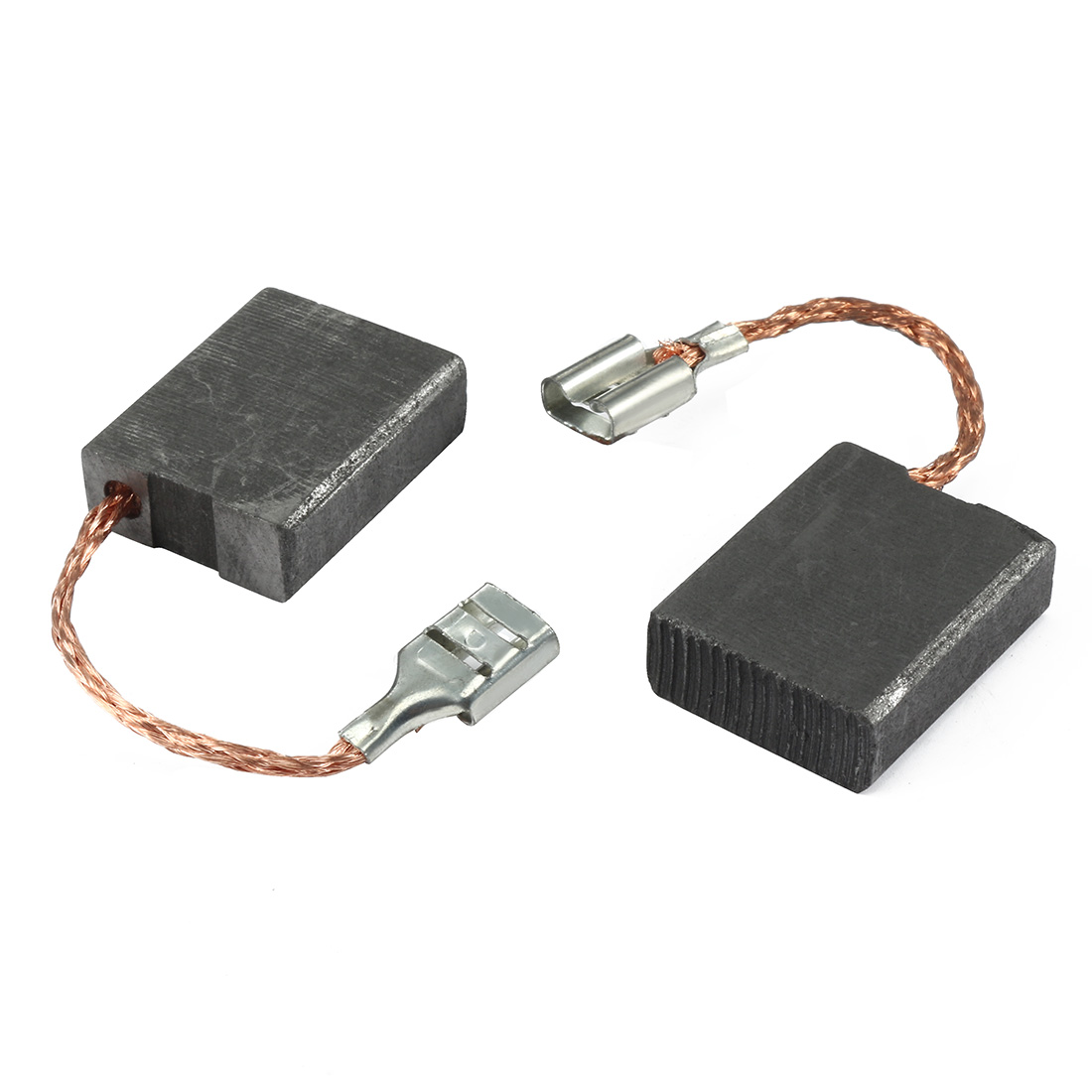 Pair Carbon Motor Brushes Spare Part Power Tool 7mm x 17mm x 21.5mm