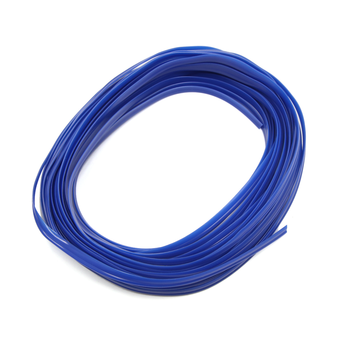 Blue Car Grille Interior Exterior Decoration Moulding Trim Strip Line 10M Lenght