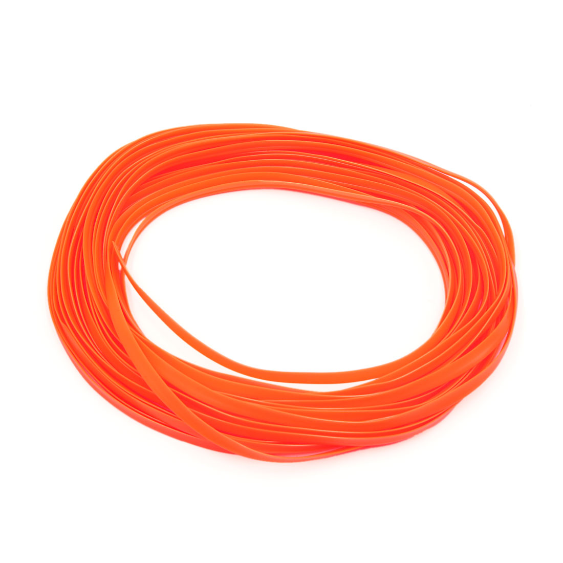 Orange Car Interior Exterior Decoration Moulding Trim Strip Line 10M Lenght