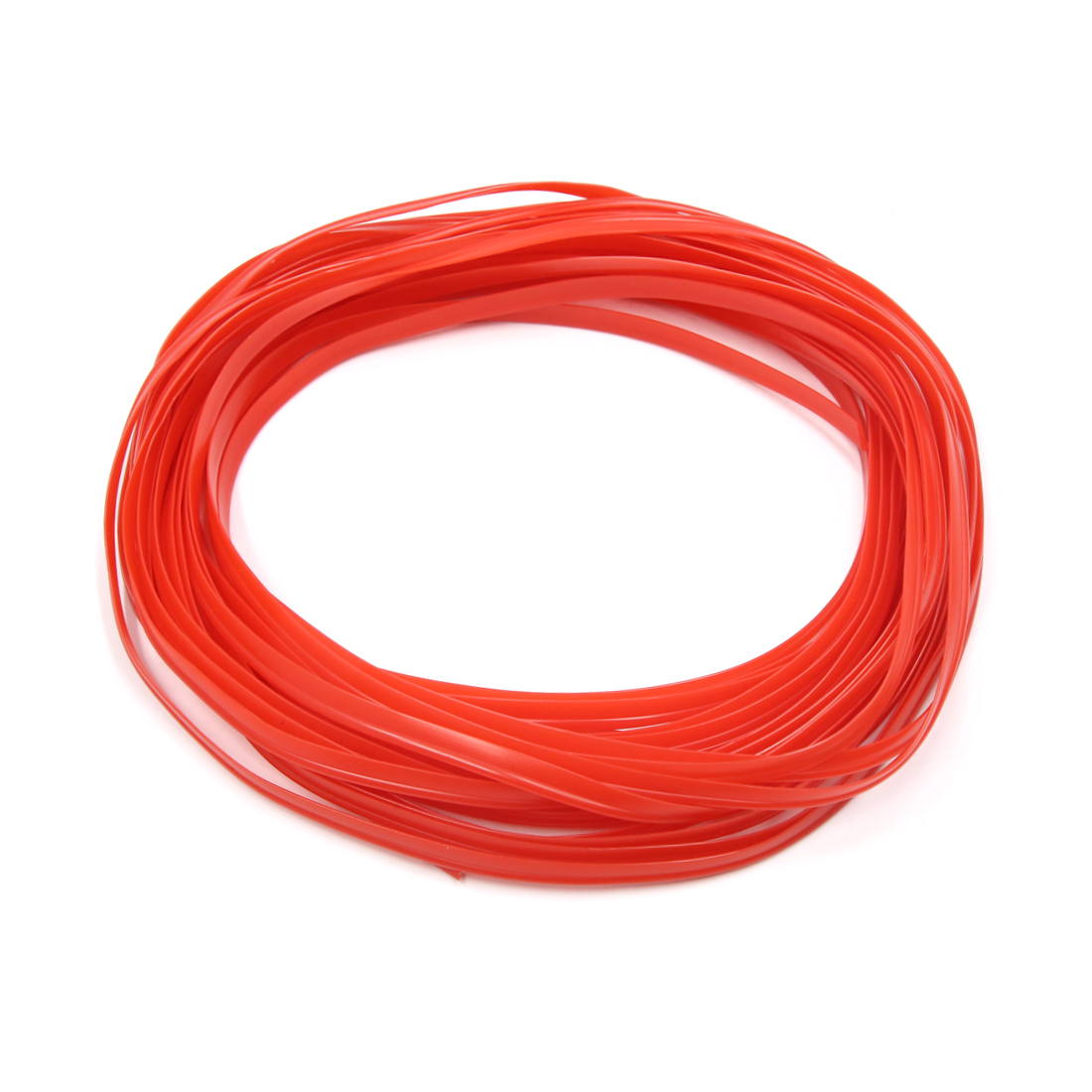 Red Car Grille Interior Exterior Decoration Moulding Trim Strip Line 10M Lenght
