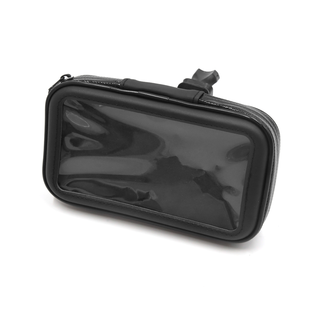 Black Bicycle Bike Handlebar Mount Holder 4.7 Inch Waterproof Phone Bag Case