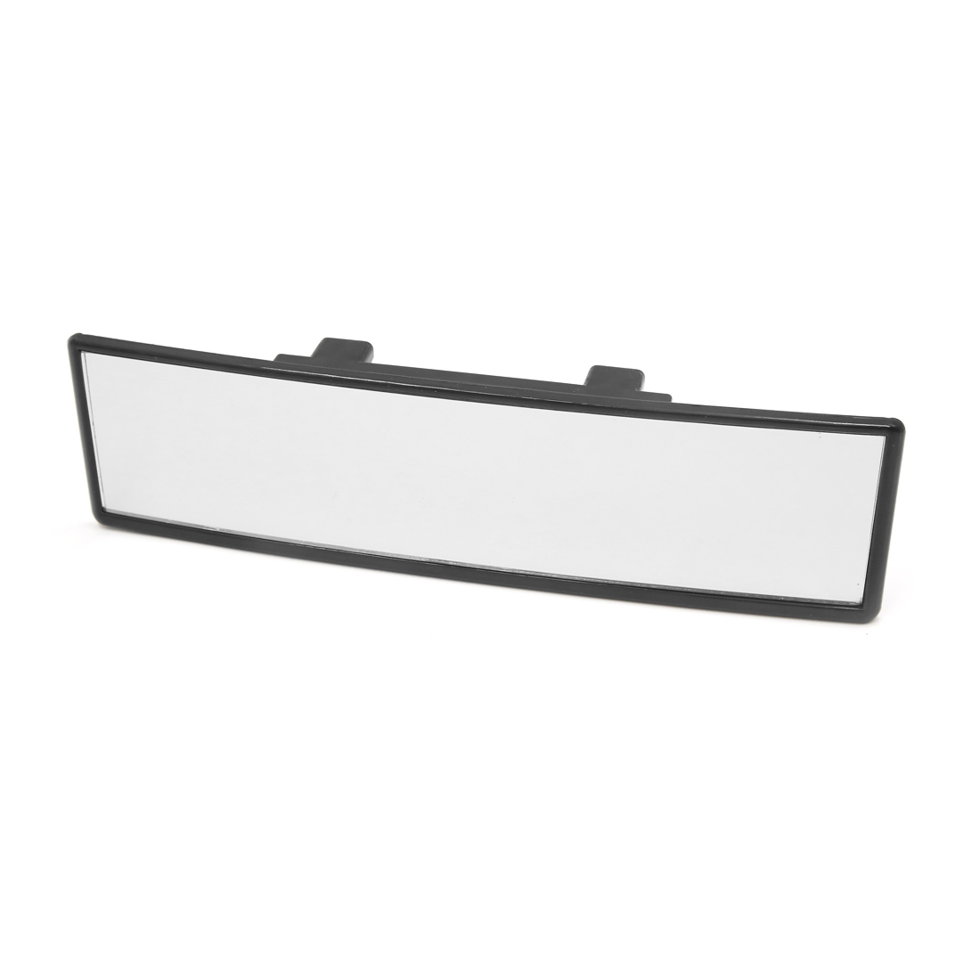 Black Car Truck Interior Wide Flat Clip On Rearview Rear View Mirror 235mm Width