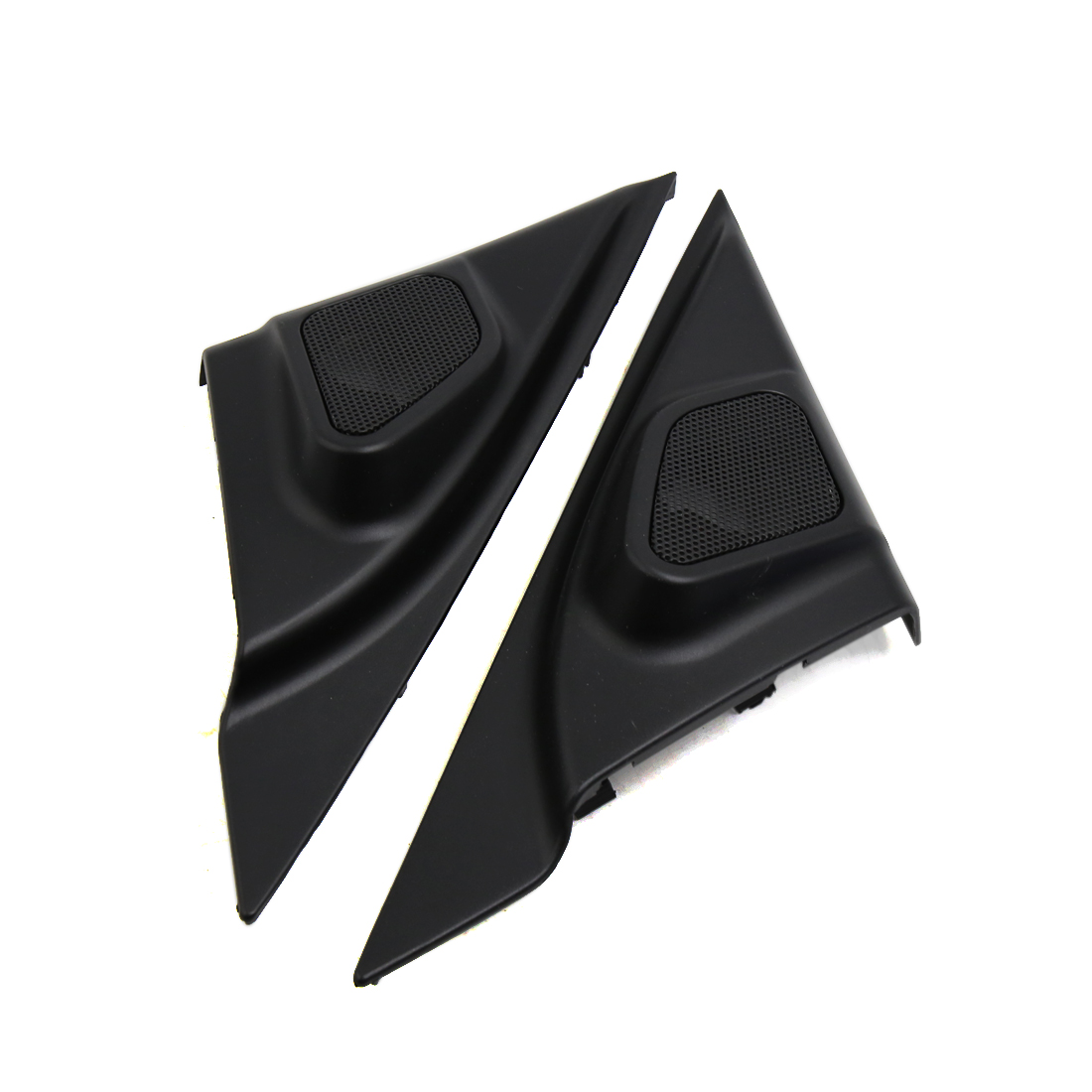2 Pcs 6 x 5cm Mesh Black Car Tweeter Trumpet Dustproof Cover for Mazda 3