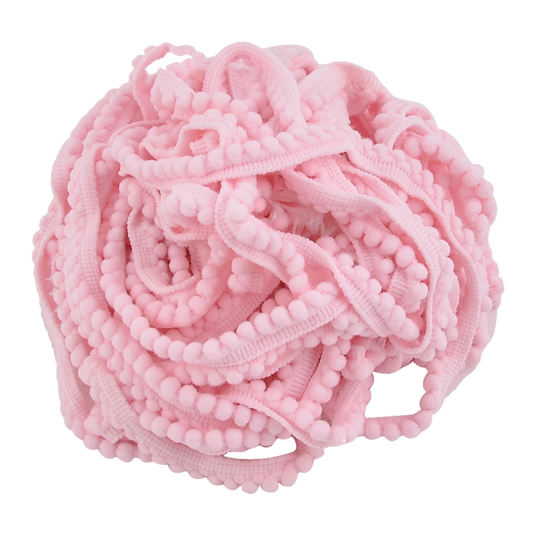Home Cotton Blends DIY Sewing Clothing Shirt Dress Ornament Fringe Trimming Pink