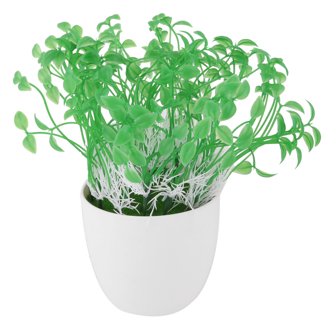 Office Plastic Artificial Bean Sprouts Flowerpot Craft Desktop Table Decor Flower
