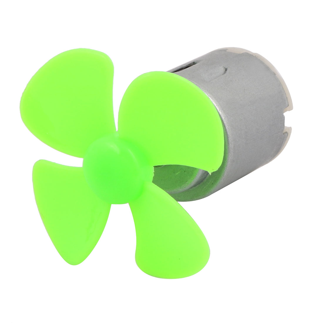 DC 3V 0.13A 17000RPM Strong Force Motor 4 Blades 40mm Green Propeller for RC Aircraft