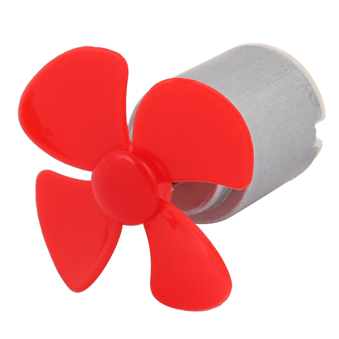 DC 3V 0.13A 21500RPM Strong Force Motor 4 Vanes 40mm Red Propeller for RC Aircraft