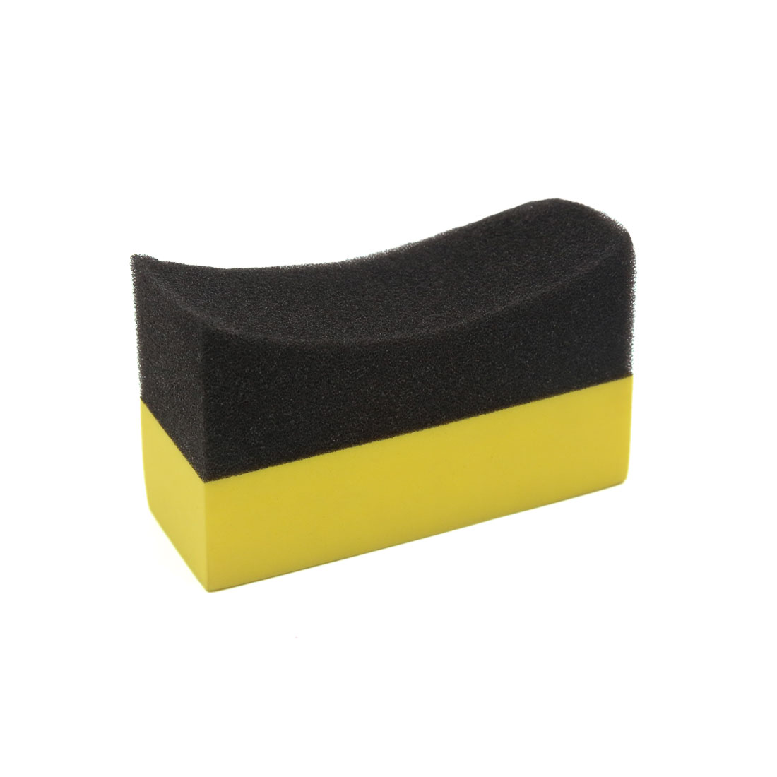U-Shape Tire Waxing Polishing Sponge Foam Pads Tyre Clean Brush for Auto Car
