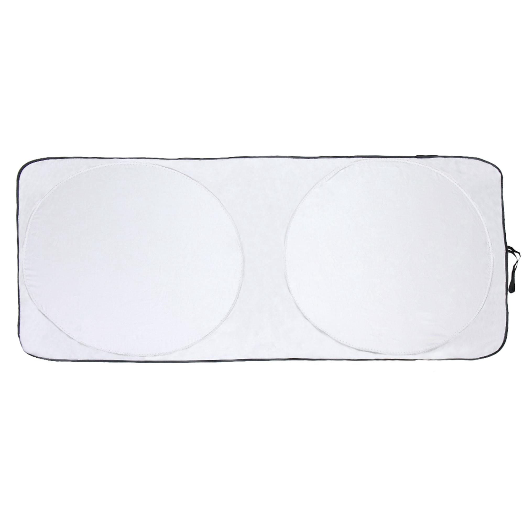 Foldable Silvering Reflective Car Windshield Sun Shade Visor for UV Rays Block
