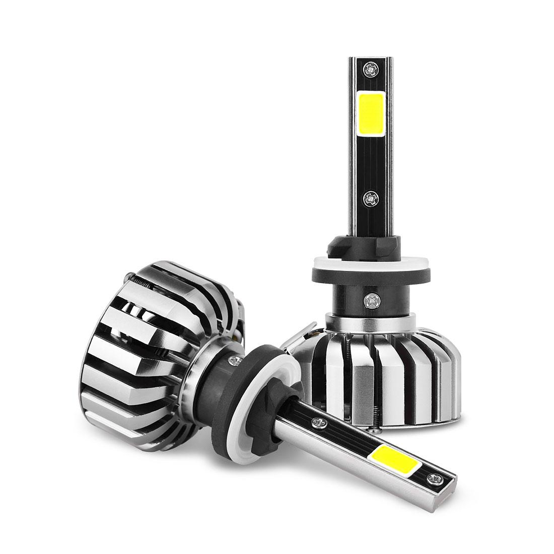2pcs 40W 880 LED Headlight Kit 6000K 7200LM ETI LED for Headlight Replacement