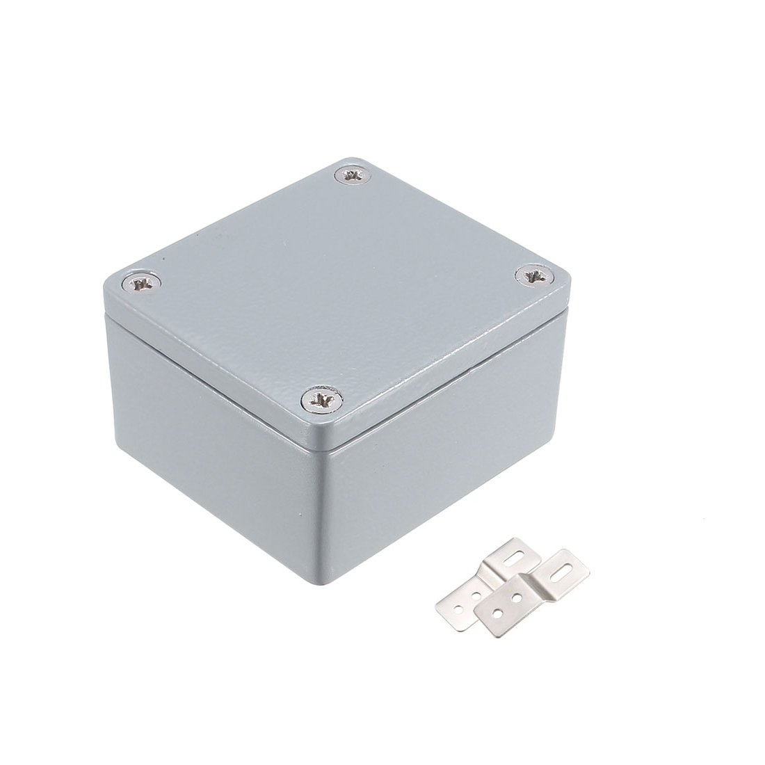 "2.5""x2.3""x1.4""(64mmx58mmx35mm) Aluminum Junction Box Universal Electric Project Enclosure"