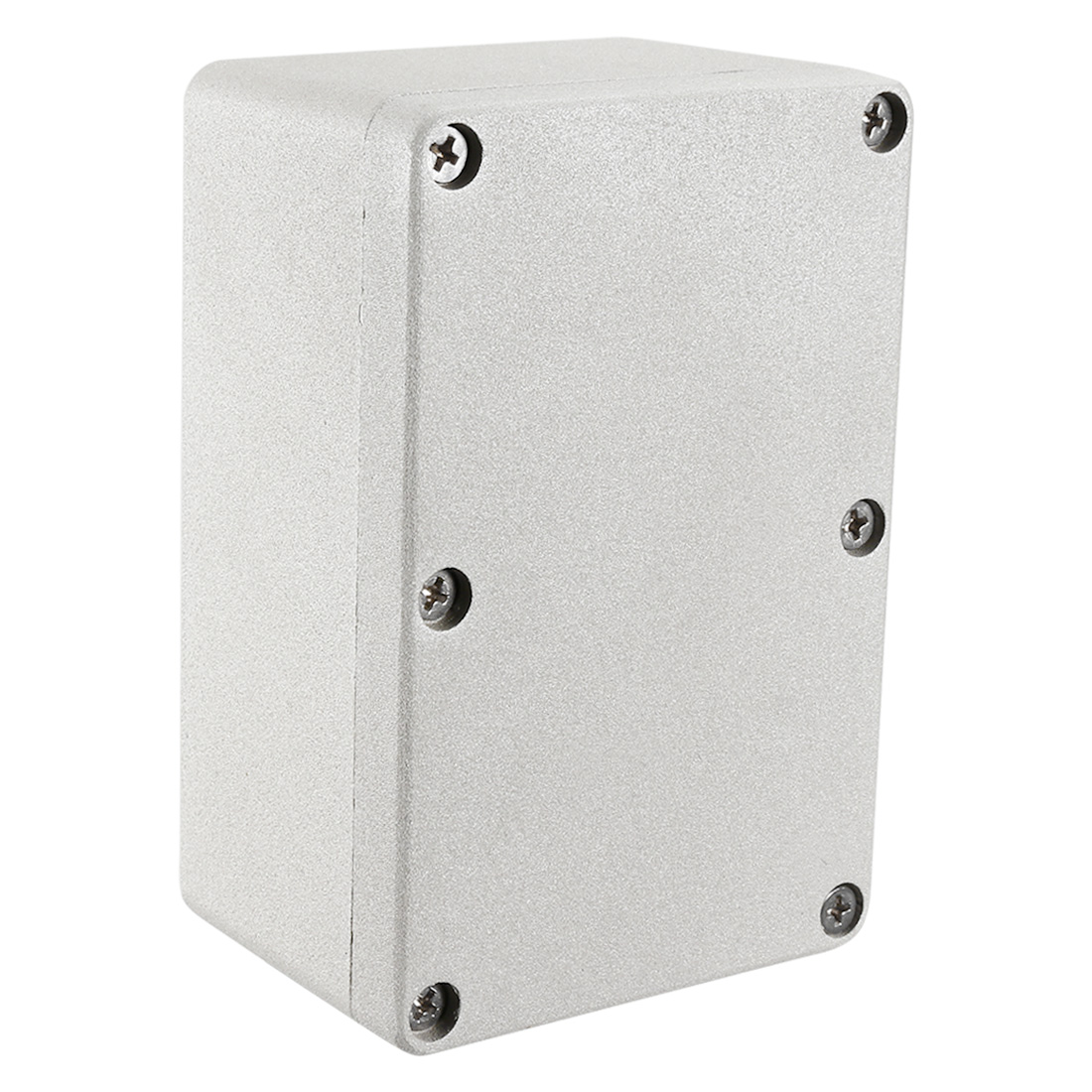 "4.7""x3.2""x2.2"" Aluminum Junction Box Universal Enclosure w Two Horns"