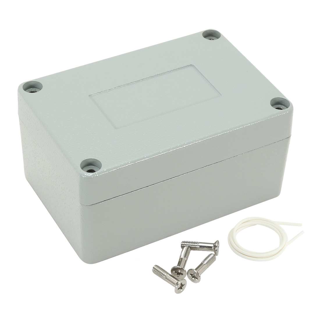 "3.9""x2.7""x2""(100mmx68mmx50mm) Aluminum Clamshell Junction Box Universal Electric Project Enclosure"