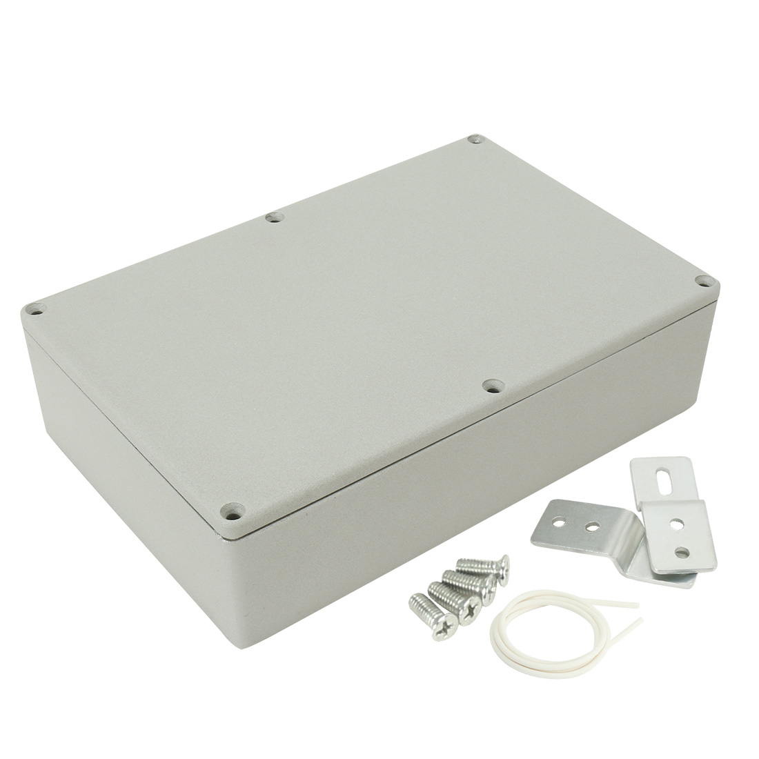 """8.7""""x5.7""""x2.2""""(222mmx145mmx55mm) Aluminum Junction Box Universal Electric Project Enclosure"""