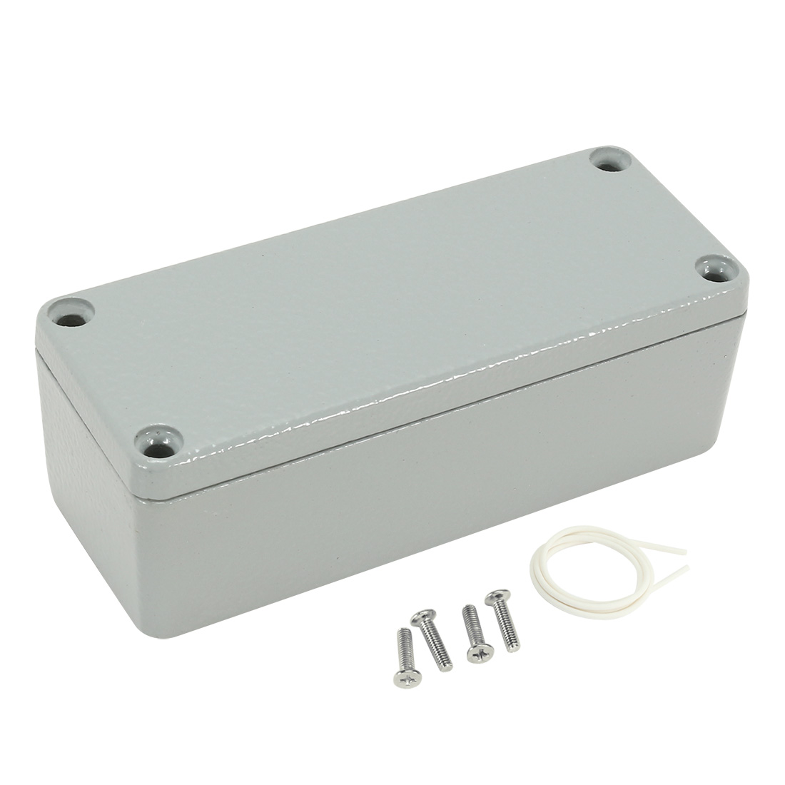 "3.5""x1.4""x1.2""(90mmx36mmx31mm) Aluminum Junction Box Universal Electric Project Enclosure"