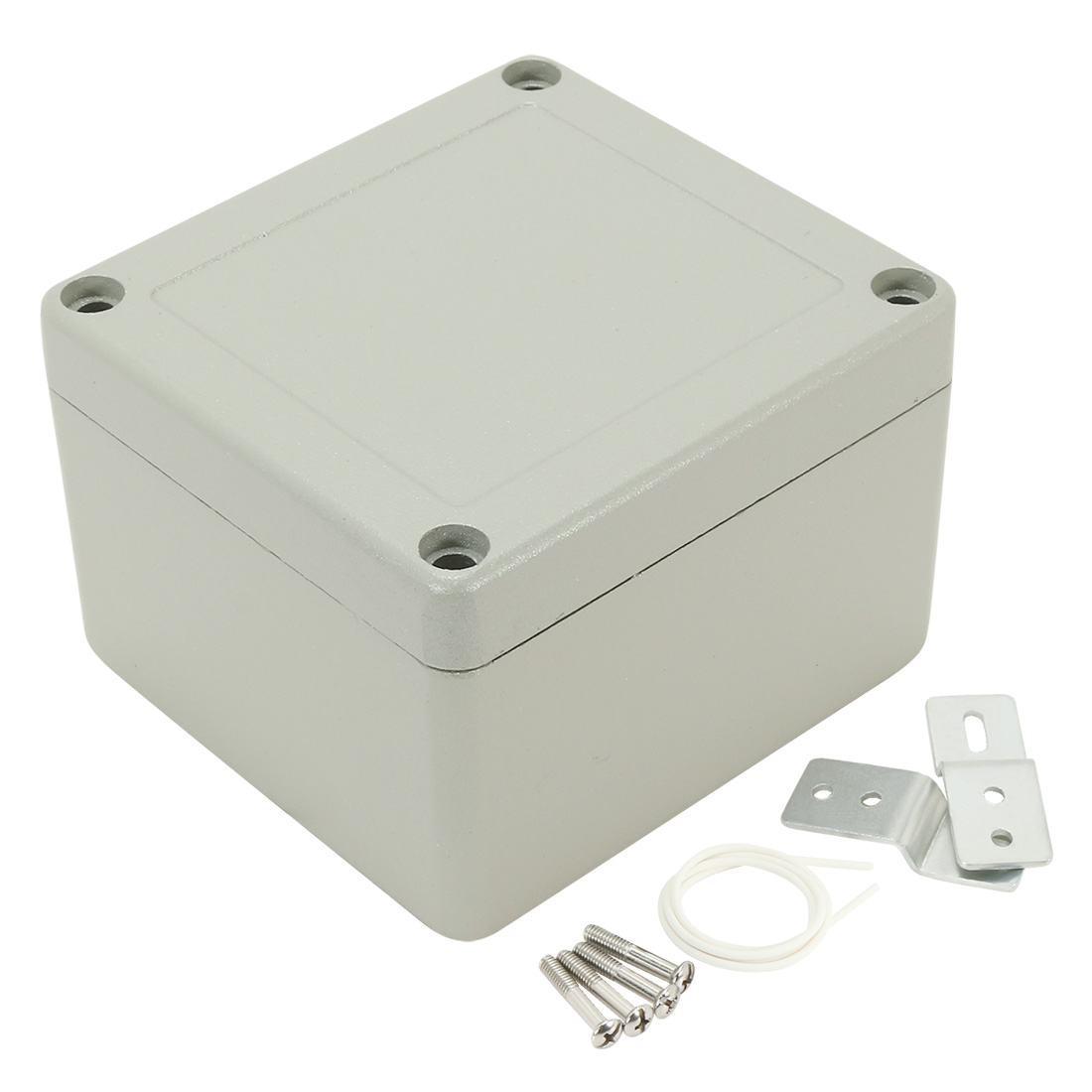 "3.2""x3""x2.24""(80mmx76mmx57mm) Aluminum Junction Box Universal Electric Project Enclosure"