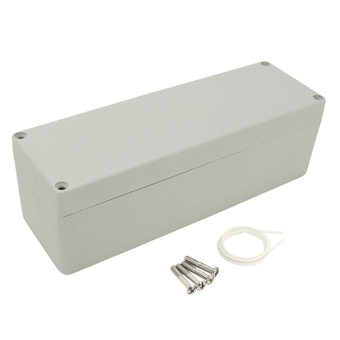 "9.8""x3.2""x3.2""(250mmx80mmx80mm) Aluminum Junction Box Universal Electric Project Enclosure"