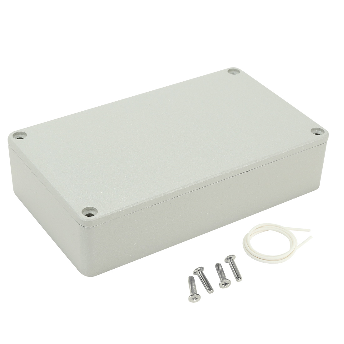 "6.5""x3.7""x1.5""(165mmx95mmx39mm) Aluminum Junction Box Universal Electric Project Enclosure"