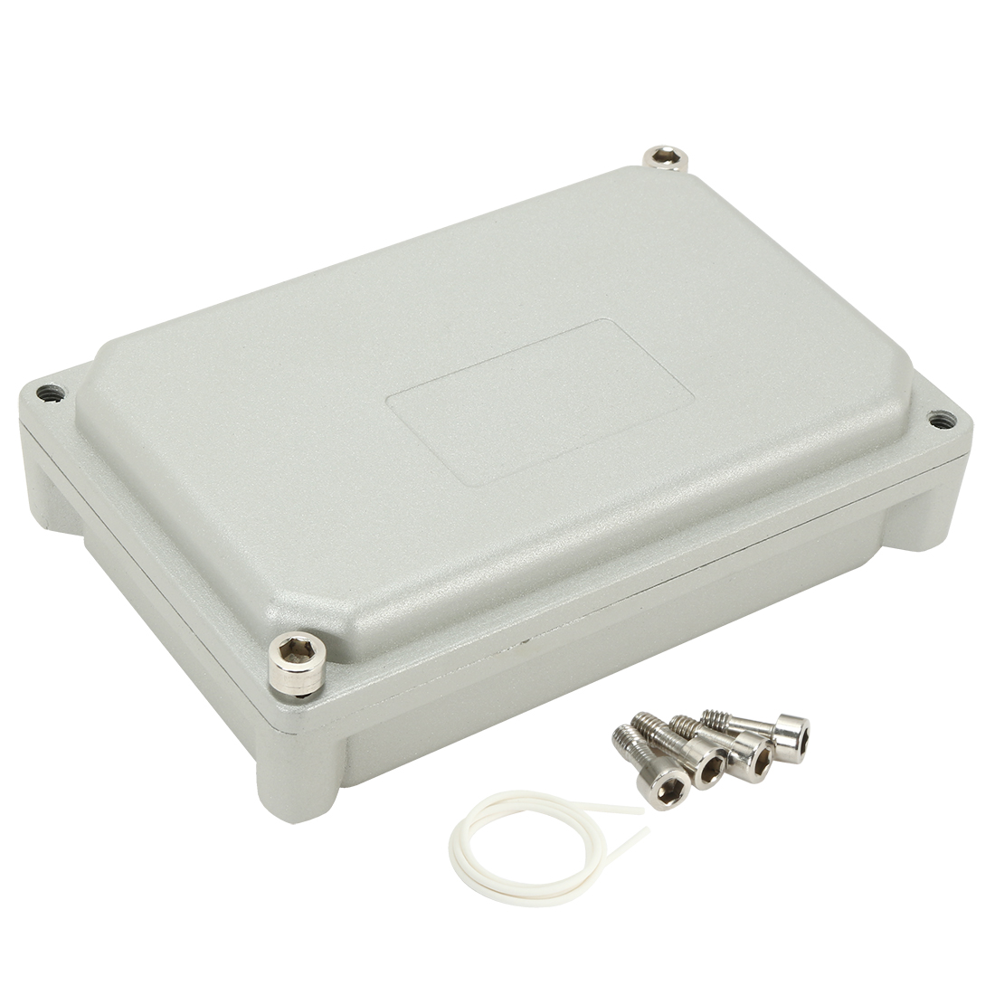 "5.7""x3.9""x1.8""(145mmx100mmx45mm) Aluminum Junction Box Universal Electric Project Enclosure"