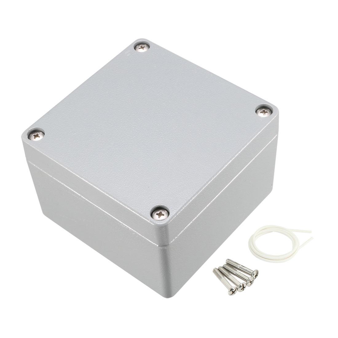"4.7""x4.7""x3.2"" Aluminum Junction Box Universal Electric Enclosure"