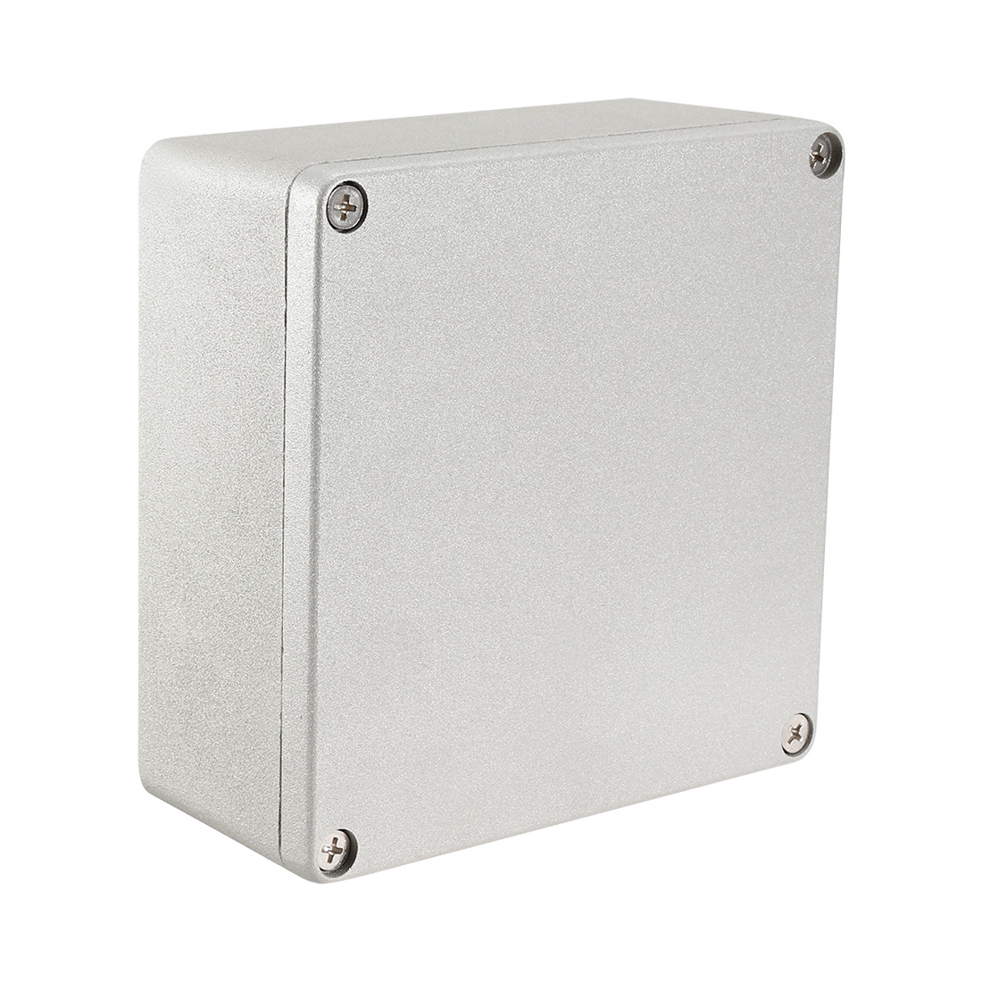 """6.3""""x6.3""""x2.8""""(160mmx160mmx70mm) Aluminum Junction Box Universal Electric Project Enclosure"""