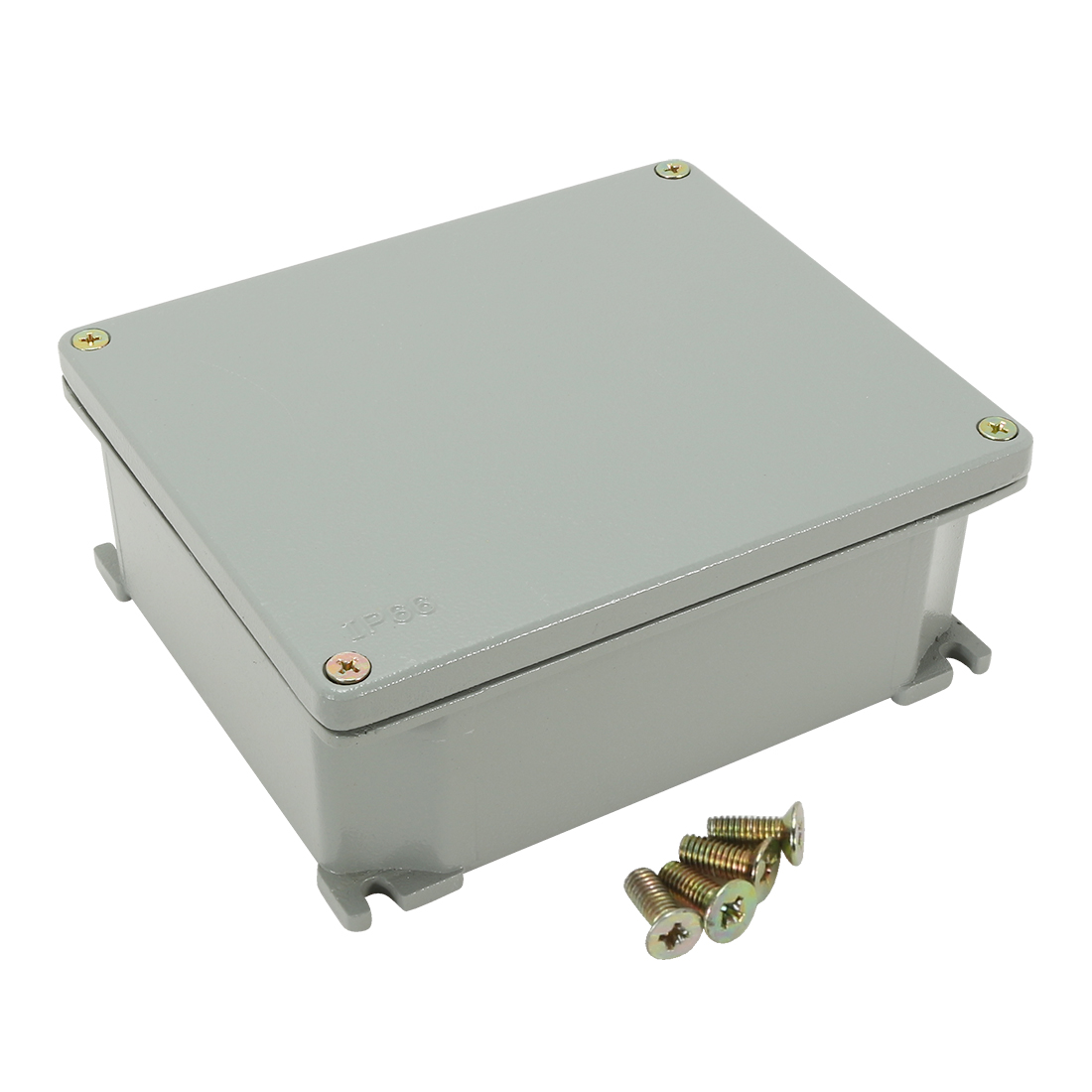 "6.3""x5.3""x2.3""(160mmx135mmx60mm) Aluminum Junction Box Universal Electric Project Enclosure"