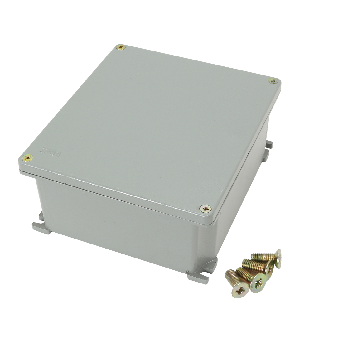 "7.5""x6.5""x3.2""(190mmx165mmx80mm) Aluminum Junction Box Universal Electric Project Enclosure"