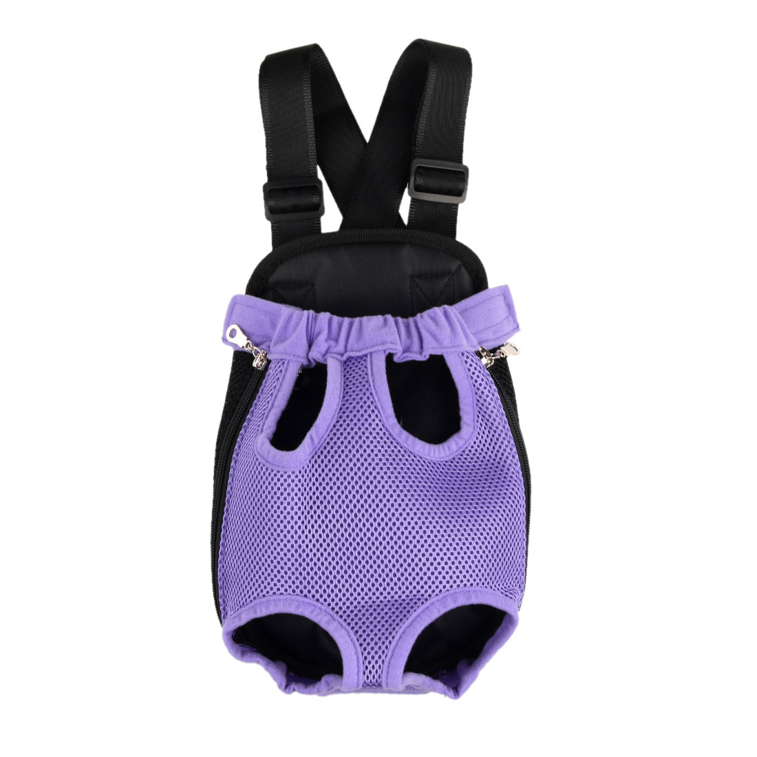 Pet Dog Carrier Legs Out Front Chest Backpack Cat Puppy Tote Holder Bag Purple S
