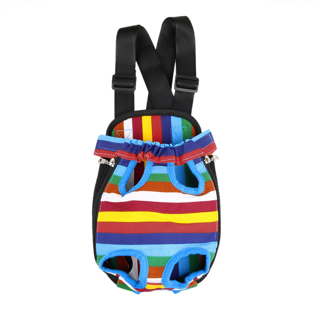 Travel Canvas Legs Out Dog Cat Pet Carrier Bag Case Backpack Totes Colorful 32 x 20cm